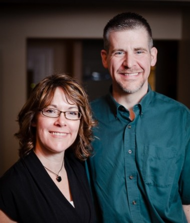 Amy and Jay, owners of CoreBalance Therapy LLC in Flagstaff, AZ