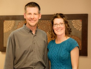 Jay and Amy, owners of CoreBalance Therapy in Flagstaff, Arizona